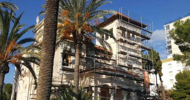 Arrancan las obras para rehabilitar Villa María en Benicàssim