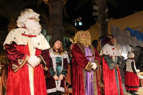 Benicàssim protege las carrozas para la cabalgata de Reyes