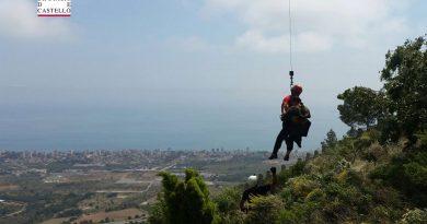 Rescatan a un excursionista desorientado en las Agujas de Santa Águeda