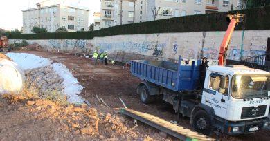 Arrancan las obras para construir el puente sobre el barranco de Farja en Benicàssim