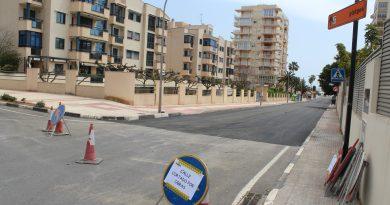Comienzan las obras de asfaltado viario en Benicàssim