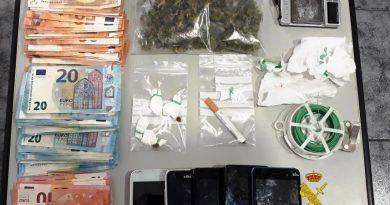 Detienen a una vecina de Benicàssim por tráfico de drogas en su casa