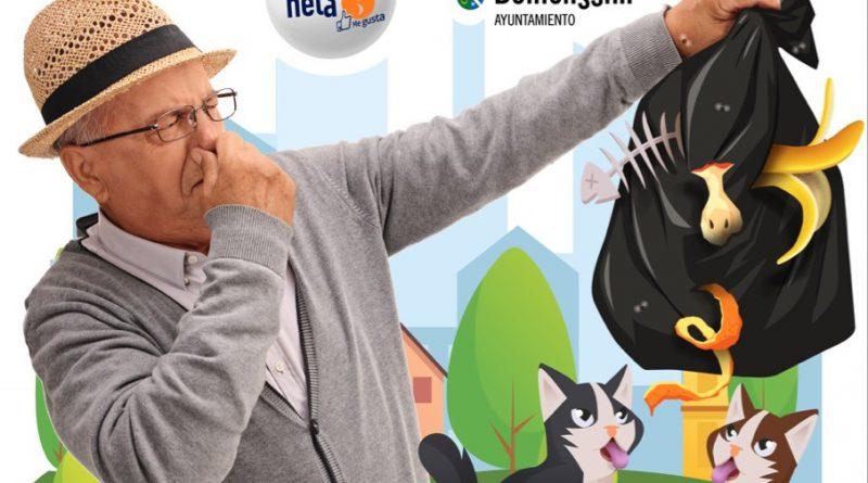 Benicàssim impulsa una campaña de limpieza en clave de humor
