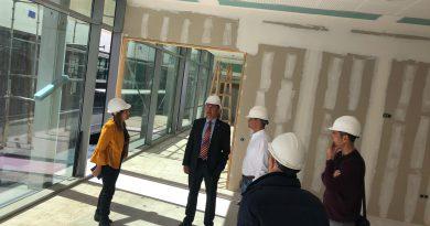 Las obras del centro de mayores de Benicàssim avanzan y terminarán en julio
