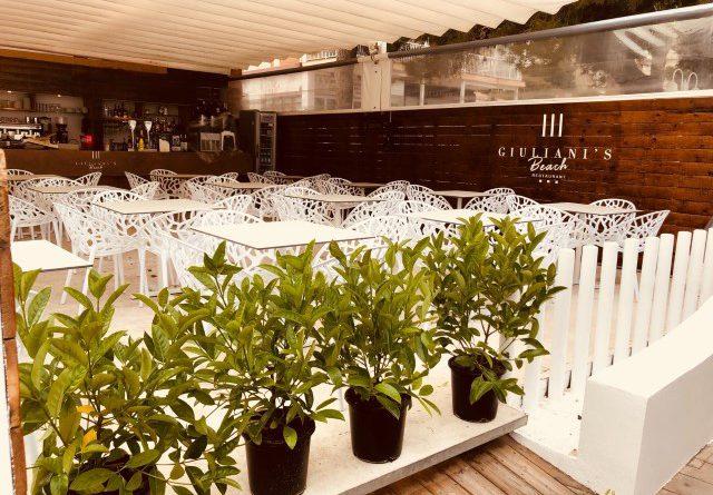Giuliani's Beach Restaurant abre en el Torreón de Benicàssim