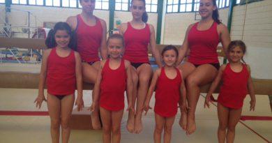Siete gimnastas de Benicàssim en el Campeonato Nacional de Base