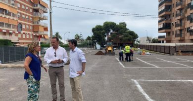 Habilitan cerca de 500 plazas de párking en Els Terrers y Heliópolis