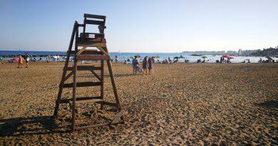 El PSPV reivindica la renovación del servicio de socorrismo en las playas