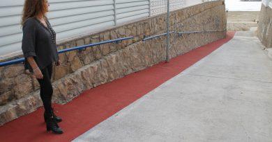Benicàssim mejora el acceso peatonal a la playa Els Terrers