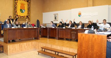 El pleno aprueba el presupuesto para este 2020 con votos de PP y Ciudadanos