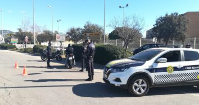 Detenido un conductor ebrio que simulaba ser miembro de las fuerzas de seguridad