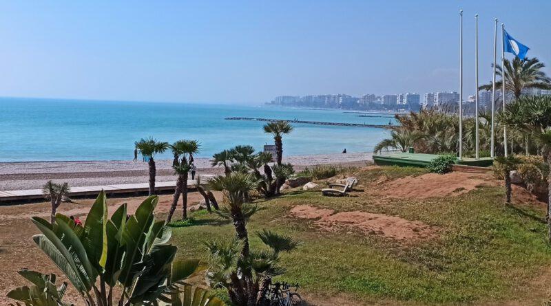 Benicàssim mantiene la bandera azul en sus cinco playas