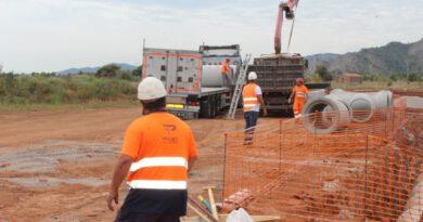 Las obras de la CV-149 en Benicàssim terminarán a finales de septiembre