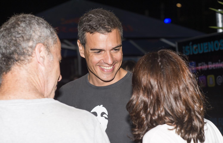 Pedro Sánchez, en avión oficial al FIB de Castellón
